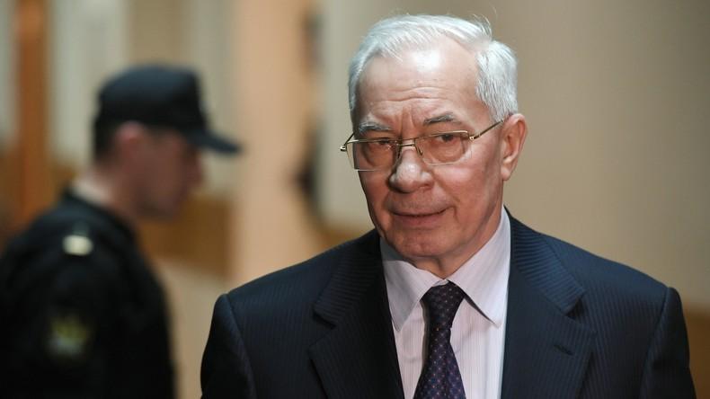 Ukrainischer Ex-Premier Asarow: 50 Schattierungen von Braun in der Rada