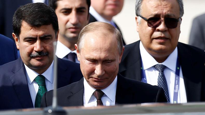 Putin: Ziel von Attentat war, Friedensprozess in Syrien zu sabotieren