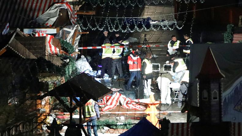 Bilder des Schreckens: Der LKW-Terroranschlag auf Berliner Weihnachtsmarkt