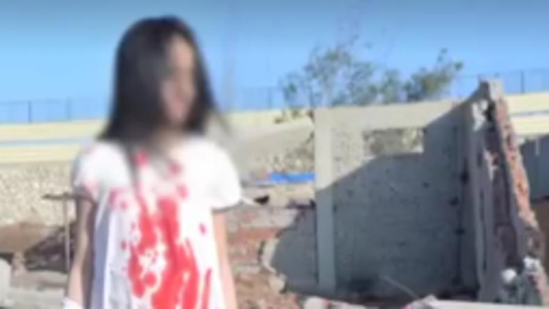 """Ägypten: Polizei erwischt Fotografen bei Produktion von Fake-Bildern """"verletzter Kinder aus Aleppo"""""""