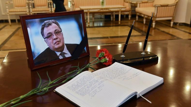 Straße in Ankara bekommt den Namen des getöteten russischen Botschafters