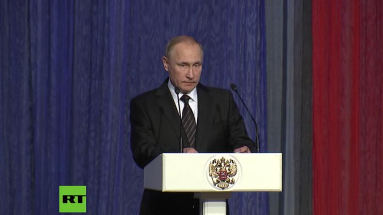 Putin: Wir drücken den Opfern und Verletzten in Berlin unser Mitgefühl aus