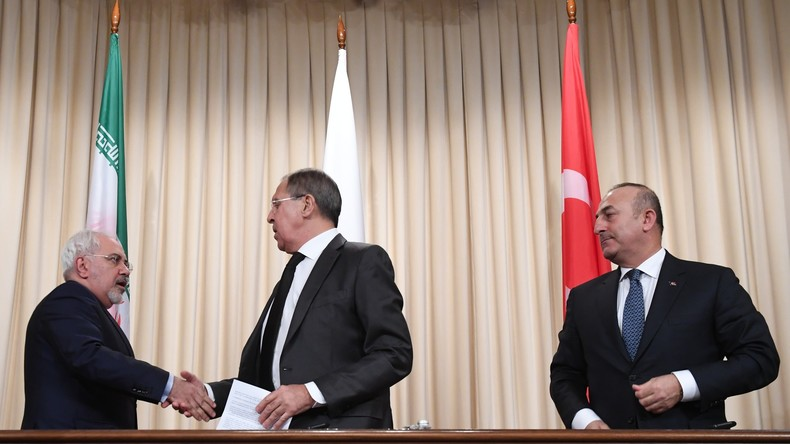 """Lawrow: """"Russland, Iran und Türkei haben gemeinsamen Plan für Beilegung des Syrien-Konfliktes"""""""