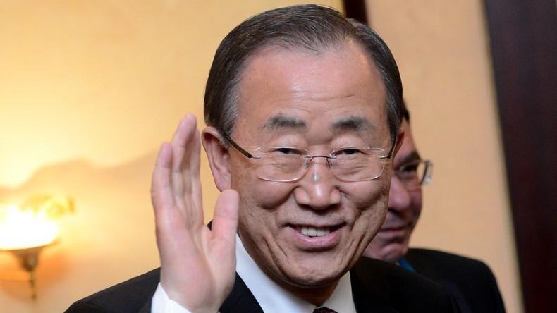 UN-Generalsekretär Ban Ki-moon will sich für seine Heimat aufopfern