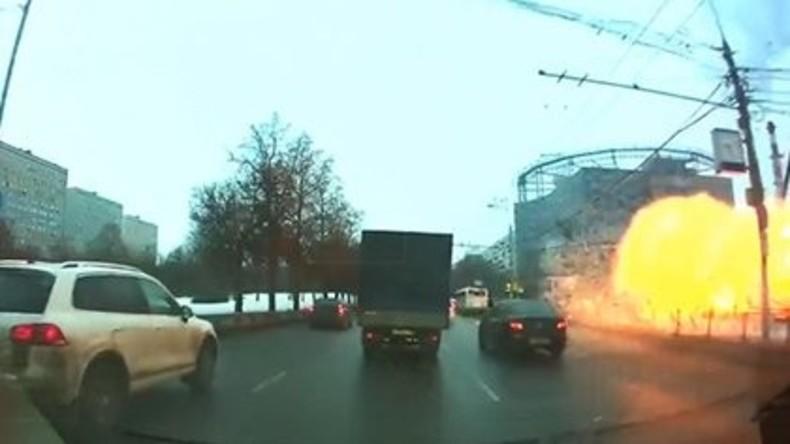 Gasexplosion in Moskau – mindestens sechs Verletzte