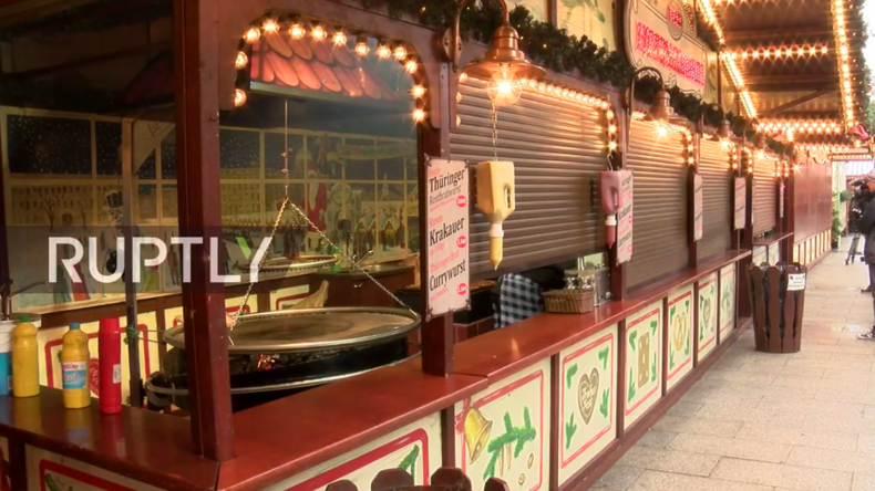 Live: Weihnachtsmarkt am Breitscheidplatz in Berlin eröffnet nach tödlichem Terroranschlag wieder