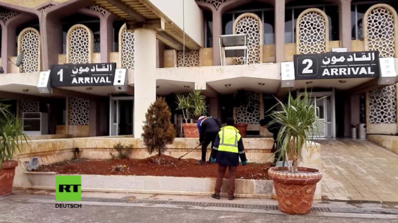 Aleppo auf dem Weg zurück zur Normalität - Flughafen wird wiedereröffnet