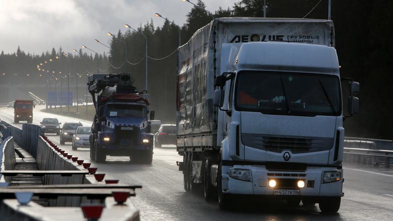 Russland und Finnland wollen fahrerlosen Transitverkehr entwickeln