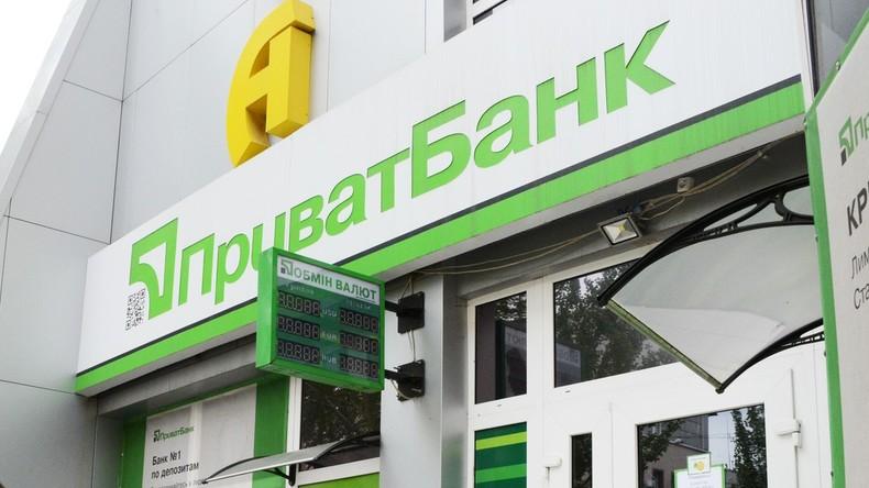 Ukrainische Regierung verstaatlicht größte Bank des Landes für eine Hrywna