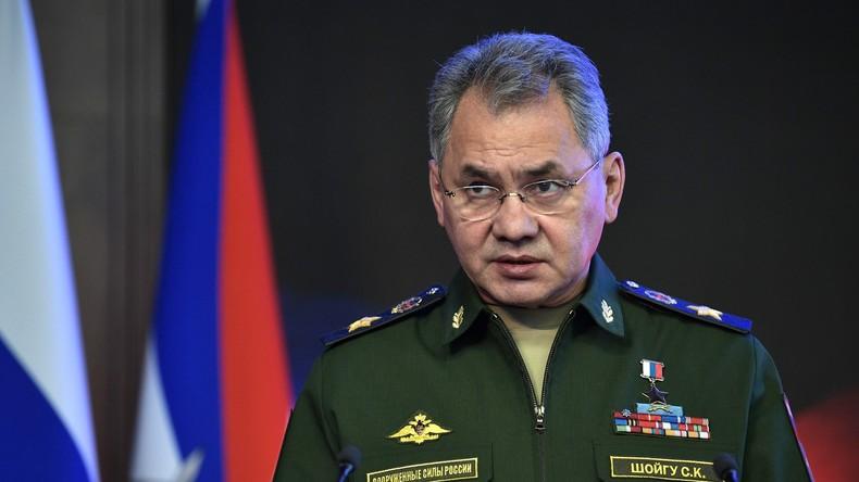 Russischer Verteidigungsminister: Russlands Luftstreitkräfte haben Zerfall Syriens verhindert