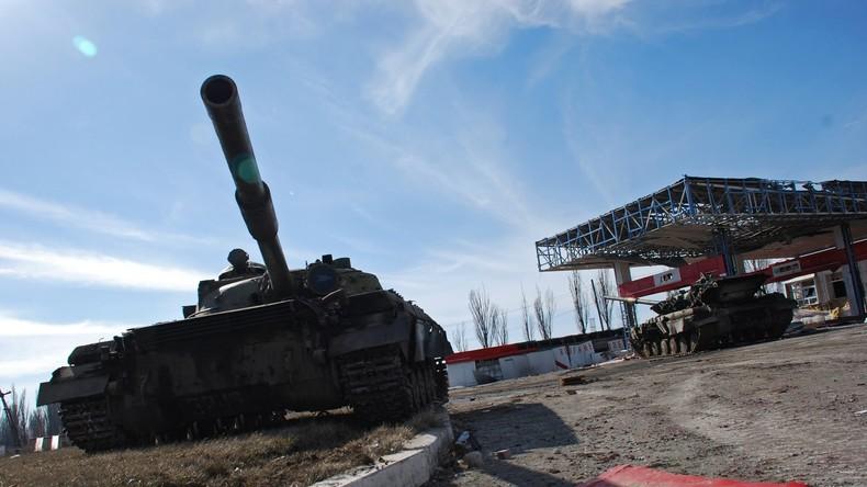 Journalisten unter Beschuss im Donbass – VR Lugansk