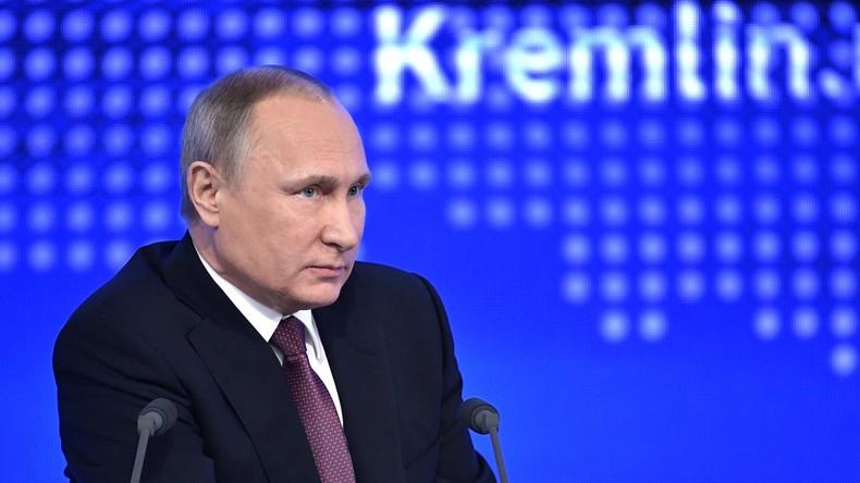 """Putin zu Aussagen der US-Administration über Macht ihrer Streikräfte: """"Wir bestreiten es nicht"""""""