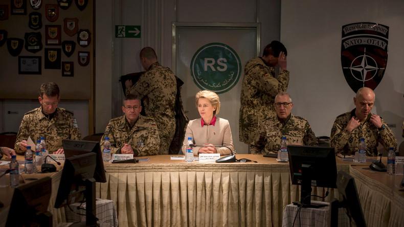 Von der Leyen in Afghanistan: NATO-geführte Militärmission steht vor dem Scheitern