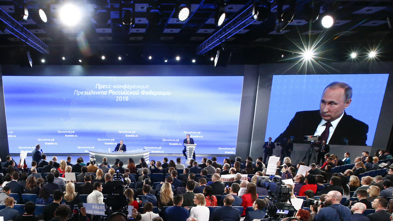 Jahrespressekonferenz von Putin: Keine Steilvorlage für Hurra-Patrioten oder Marktradikale