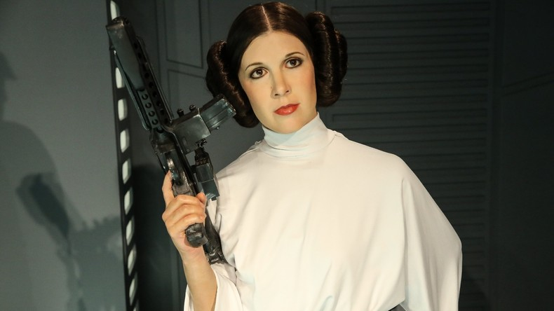 """Prinzessin Leia aus """"Star Wars"""" kämpft um ihr Leben"""