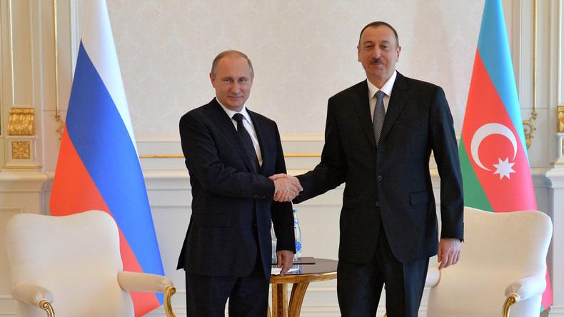 Aserbaidschans Präsident Ilham Alijew feiert seinen 55. Geburtstag