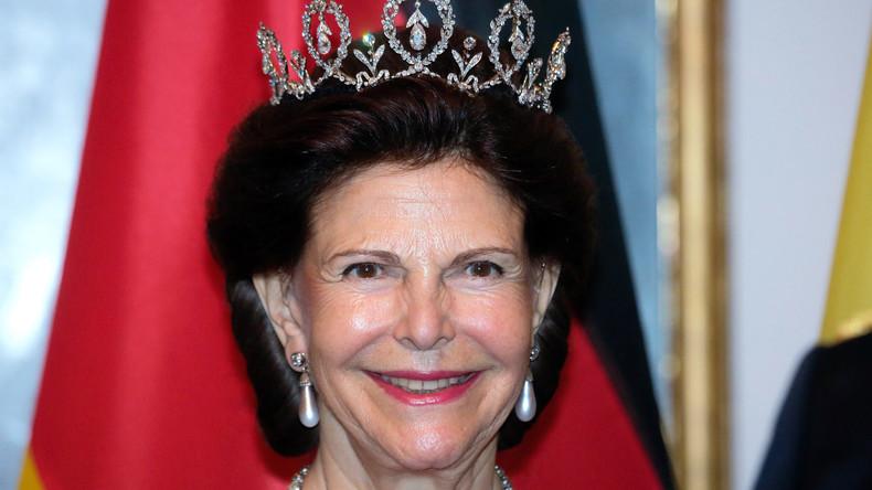 Schwedische Königin Silvia wegen Schwindelanfall im Krankenhaus
