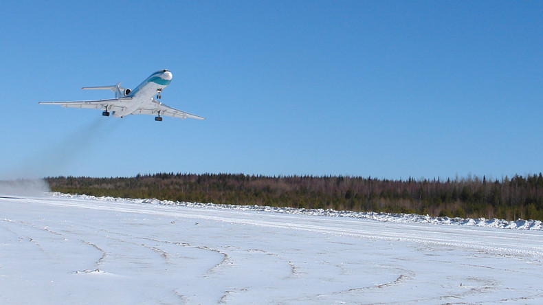 Russische Passagiermaschine verschwindet vom Radar: 91 Menschen an Bord (Symbolbild)