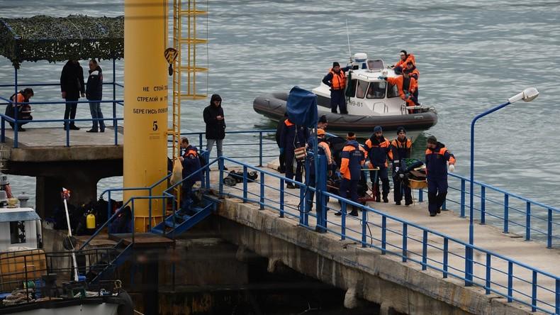 Absturz der TU-154 ins Schwarze Meer: Video der Such- und Rettungsaktion vor der Küste Sotschis