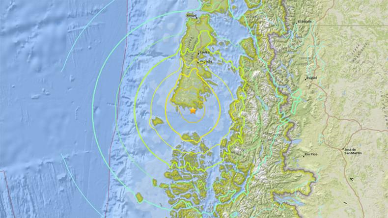 Erdbeben der Stärke 7,7 erschüttert Chile