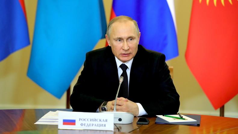 Wladimir Putin: Festgefahrene Konflikte werden weltweit nicht genug bewältigt