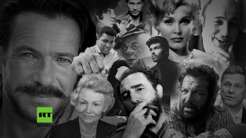 Tote Berühmtheiten 2016 - So viele Legenden sagen für immer Goodbye