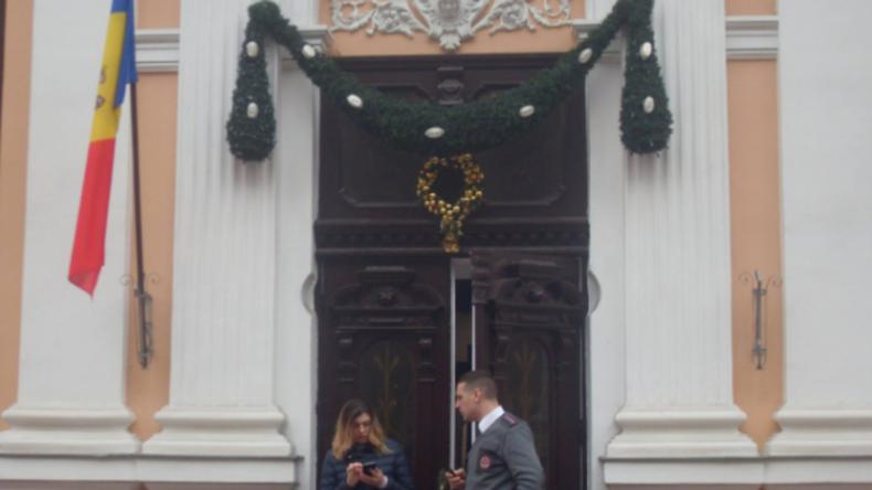 Moldawien: EU-Flagge vom Gebäude der Präsidentenadministration entfernt