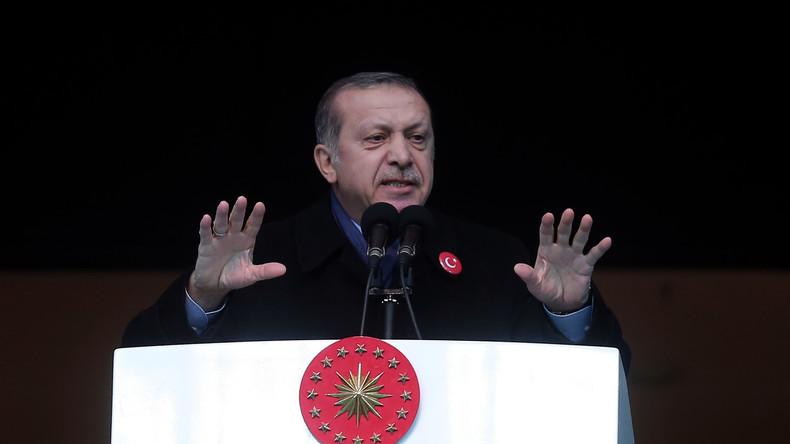 Erdoğan will über Beweise für US-Unterstützung des IS in Syrien verfügen