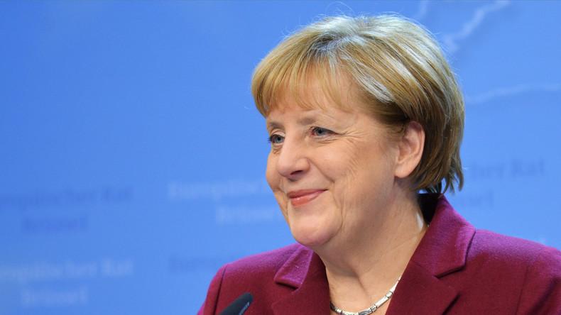 Flüchtlinge lösen mit Geschenk für Angela Merkel Polizeieinsatz in Rheinland-Pfalz aus
