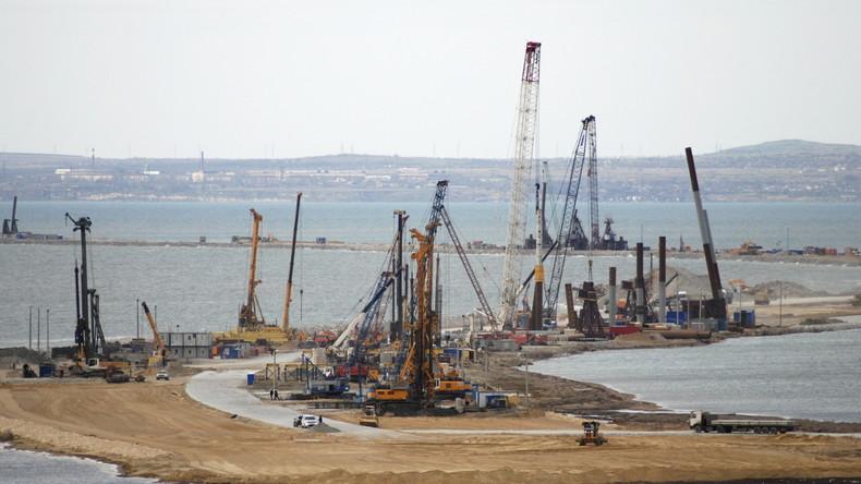 Putin schließt Krim durch Pipeline an russisches Gasnetz an