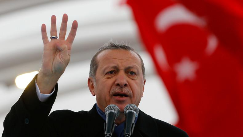 Türkischer Präsident Erdogan: USA unterstützen direkt den IS – Washington dementiert