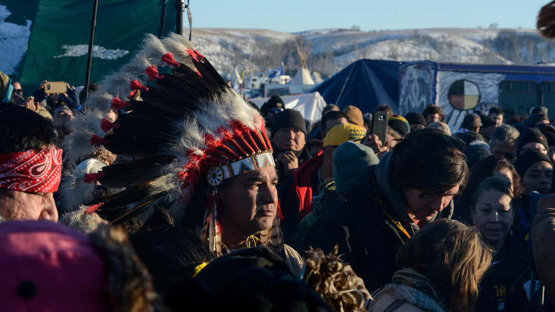 Anti-Pipeline-Proteste in North Dakota dauern trotz Projektrevision an