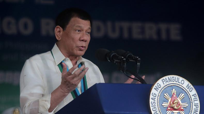 Philippinischer Präsident will korrupte Beamte aus Hubschraubern abwerfen lassen