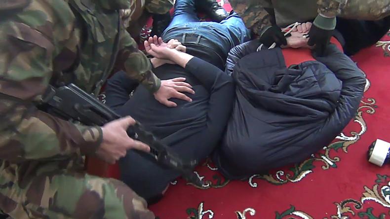 Russlands Geheimdienste nehmen IS-Anhänger fest, die Anschläge in Moskau verüben wollten