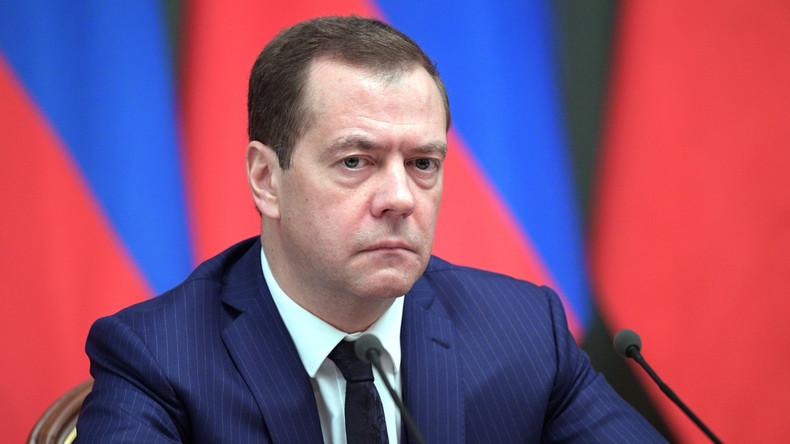 """Russischer Premier: Obama-Administration beendet ihre Amtszeit in """"antirussischer Agonie"""""""