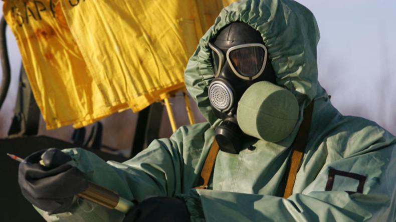 """Aleppo: Chemiewaffenfabrik der """"Rebellen"""" entdeckt"""