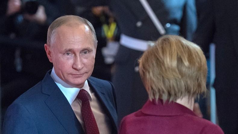 Wladimir Putin wünscht ausländischen Spitzenpolitikern alles Gute im neuen Jahr