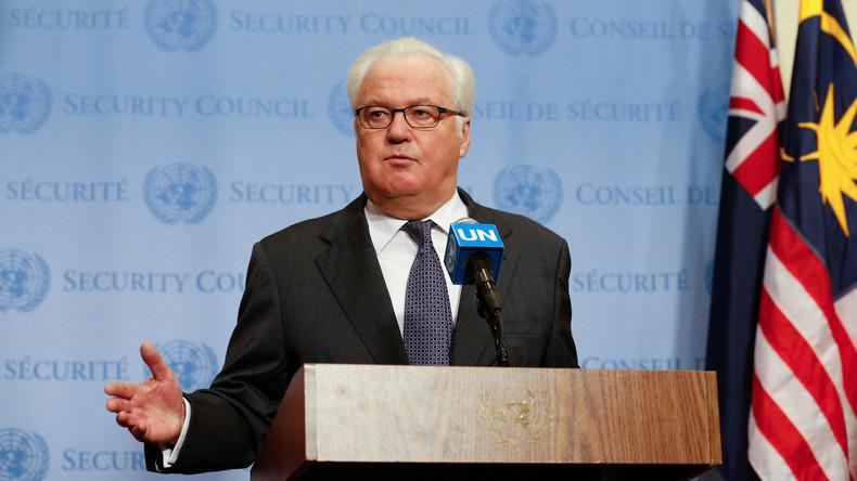 Russlands UN-Botschafter schließt US-Teilnahme an Syrien-Gesprächen in Astana nicht aus