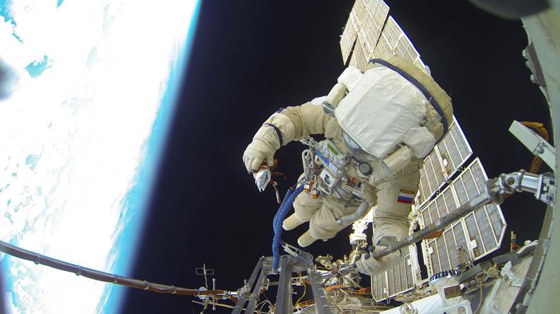 ISS-Crew kann Neujahr 16 Mal in 24 Stunden feiern