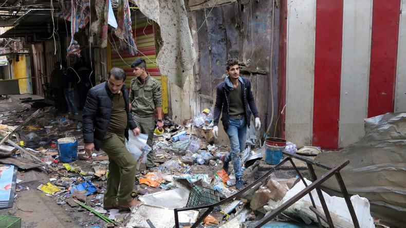 """""""Islamischer Staat"""" bekennt sich zu Doppelanschlag in Bagdad: 28 Menschen sind tot"""