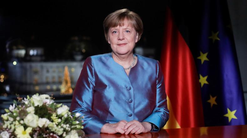 """Bundeskanzlerin Angela Merkel: """"2016 war ein Jahr schwerer Prüfungen"""""""