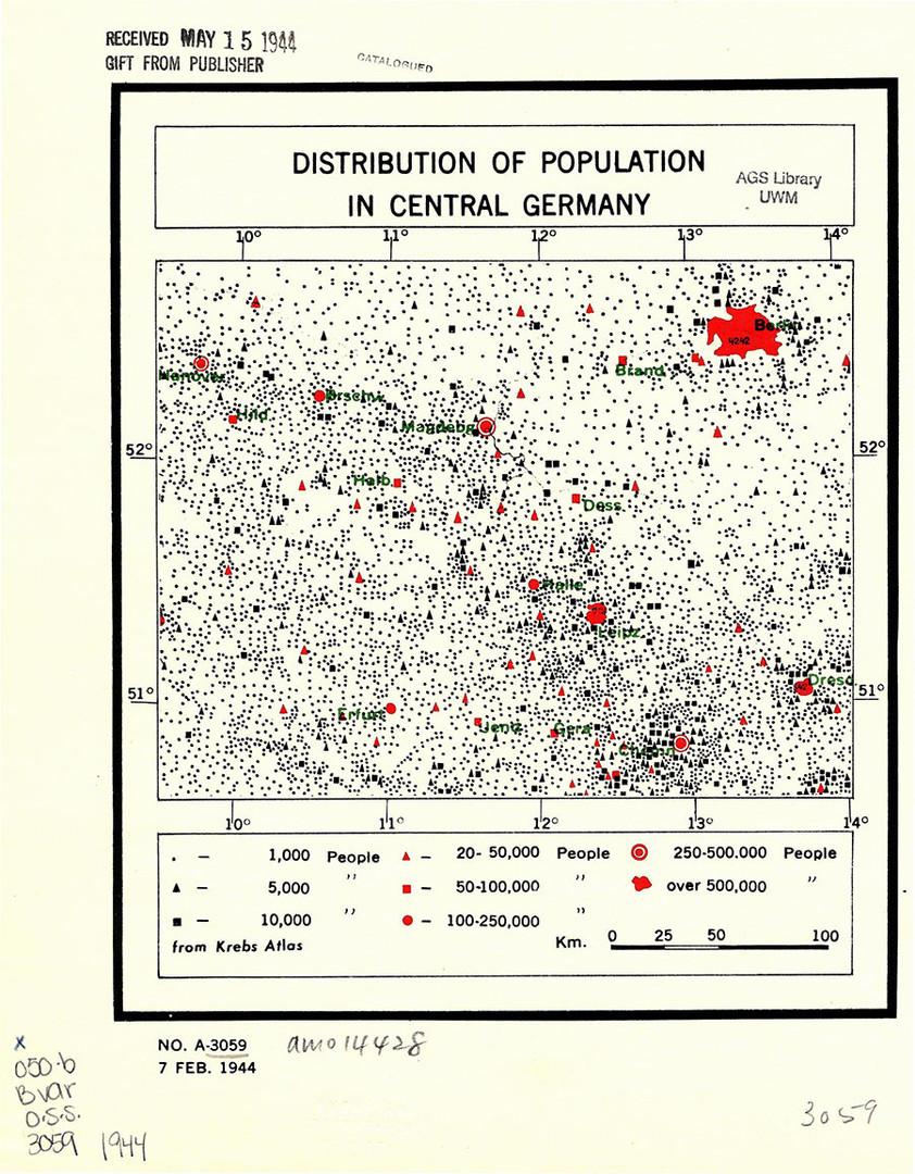 Deklassifiziertes CIA-Kartenmaterial gibt neue Einblicke in historische Geschehnisse