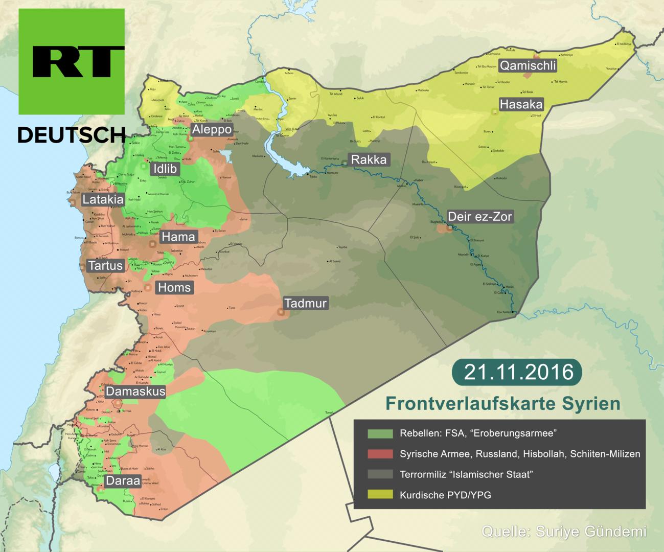 Russland und syrische Rebellen verhandeln in Türkei über Frieden in Aleppo - ohne USA