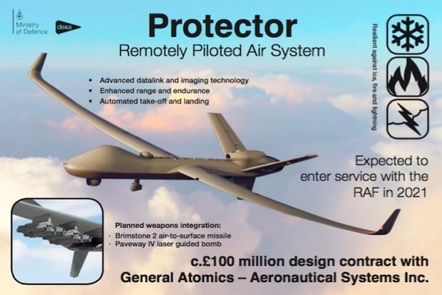 Anti-Terrorkampf in Nahost: Großbritannien verdoppelt mithilfe der USA seine Drohnenflotte