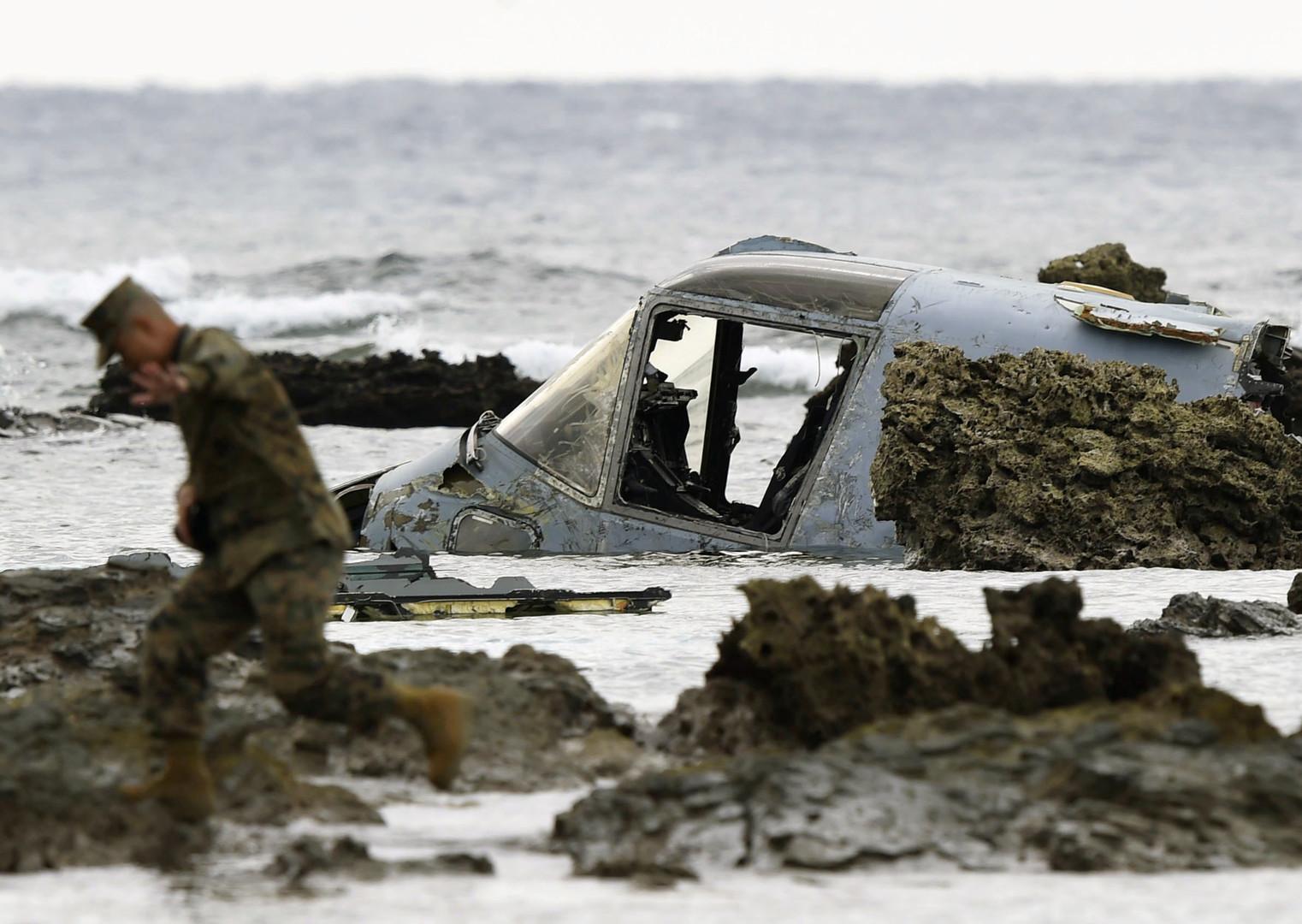 Nach weiterem Absturz von US-Militärflugzeug – Bewohner Okinawas fürchten um ihre Sicherheit