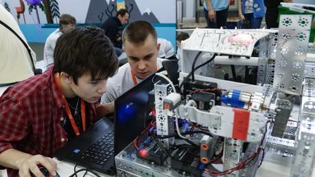 Auch an Robotern wird gebastelt: Start-ups die es in Russland schaffen, schaffen es überall.