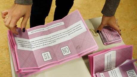 Italien stimmt über Verfassungsreform ab
