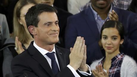 Manuel Valls zieht in Wahlkampf um Präsidentschaftsposten in Frankreich