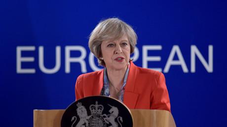 Theresa May wurde nicht zum Abendessen bei EU-Gipfel eingeladen