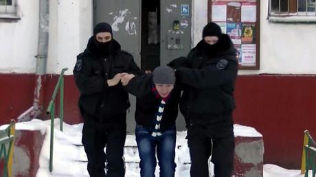Moskau: Zwölf mutmaßliche Extremisten verhaftet